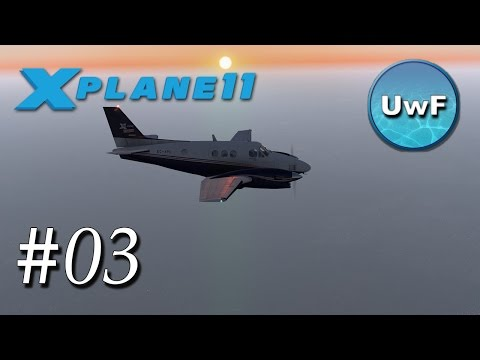 X-Plane 11 #03 | King Air C90 von Leipzig (EDDP) nach Berlin Tegel (EDDT) | VFR Nach ATC