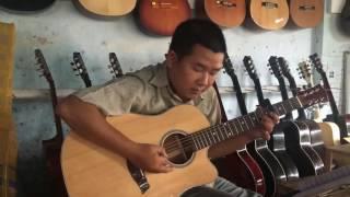 Nỗi lòng người xa xứ - test guitar 1500k - 0906.39.1557