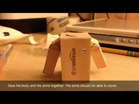 Papercraft Danbo Papercraft Tutorial