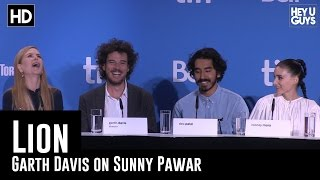 Garth Davis on Sunny Pawar & his future - Lion Press Conference (TIFF 2016)