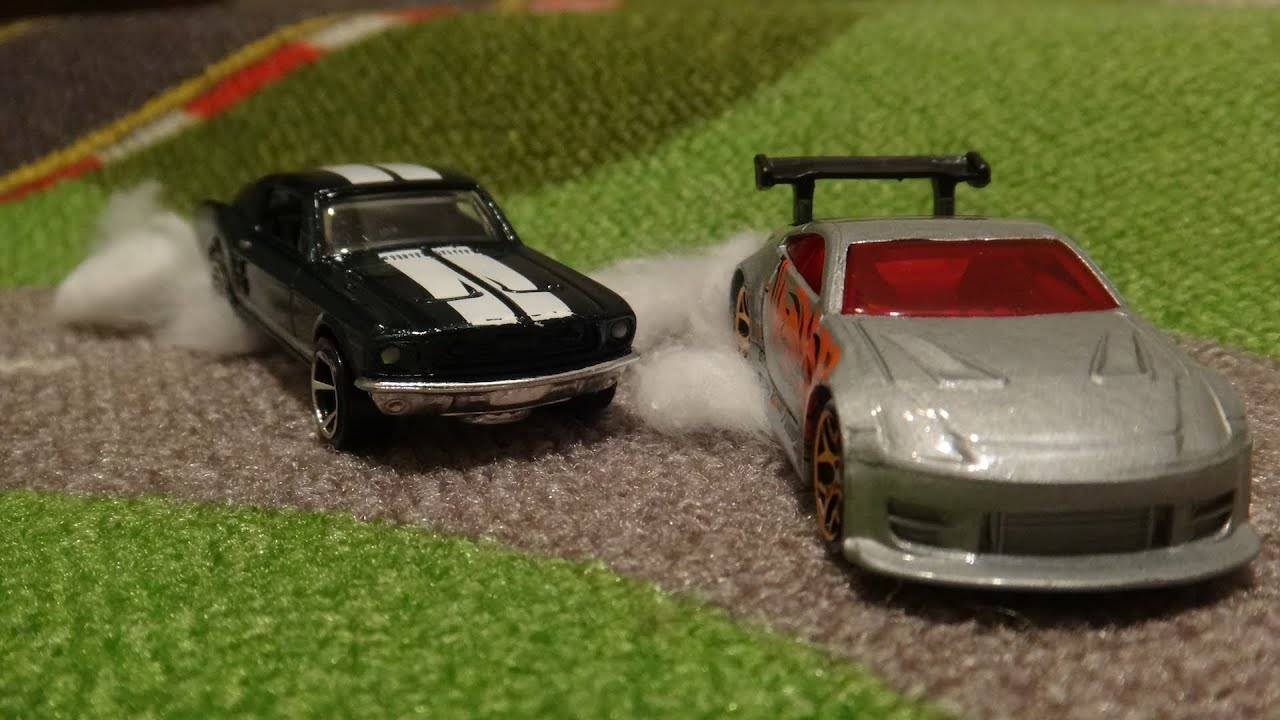 The Fast And Furious Tokyo Drift Race Ford Mustang Vs Nissan