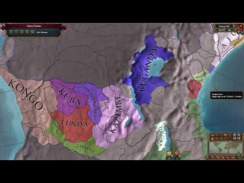 Buganda the king of Africa - Europa Universalis IV Ironman