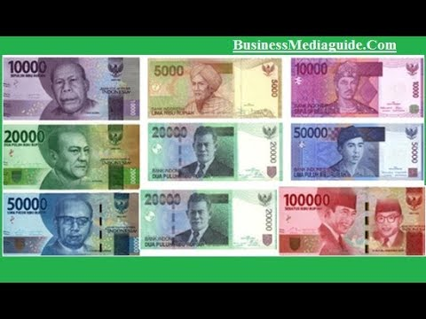 Indonesian Rupiah Idr Exchange Rate