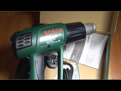 bosch phg 600 3 heat gun quick quick look asurekazani. Black Bedroom Furniture Sets. Home Design Ideas