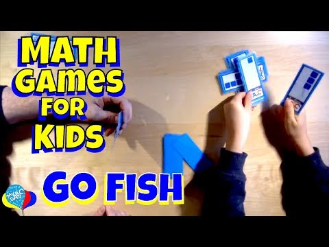 Go Fish Math Games For Kids