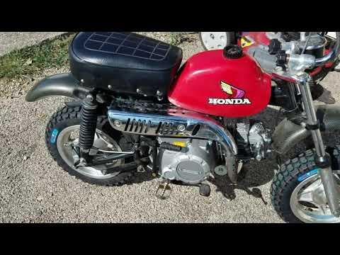 Honda Z50 firebreather 140cc electric start