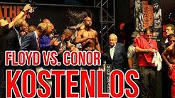Floyd Mayweather vs. Conor McGregor kostenlos sehen! (DAZN)