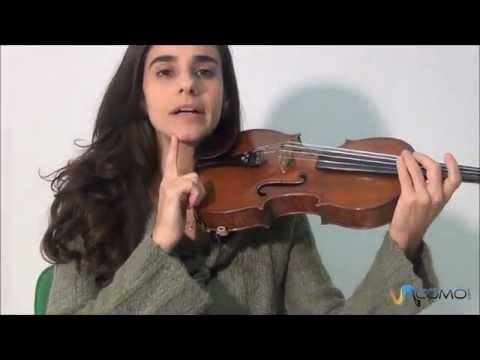 Las partes del violín – Tocar el violín