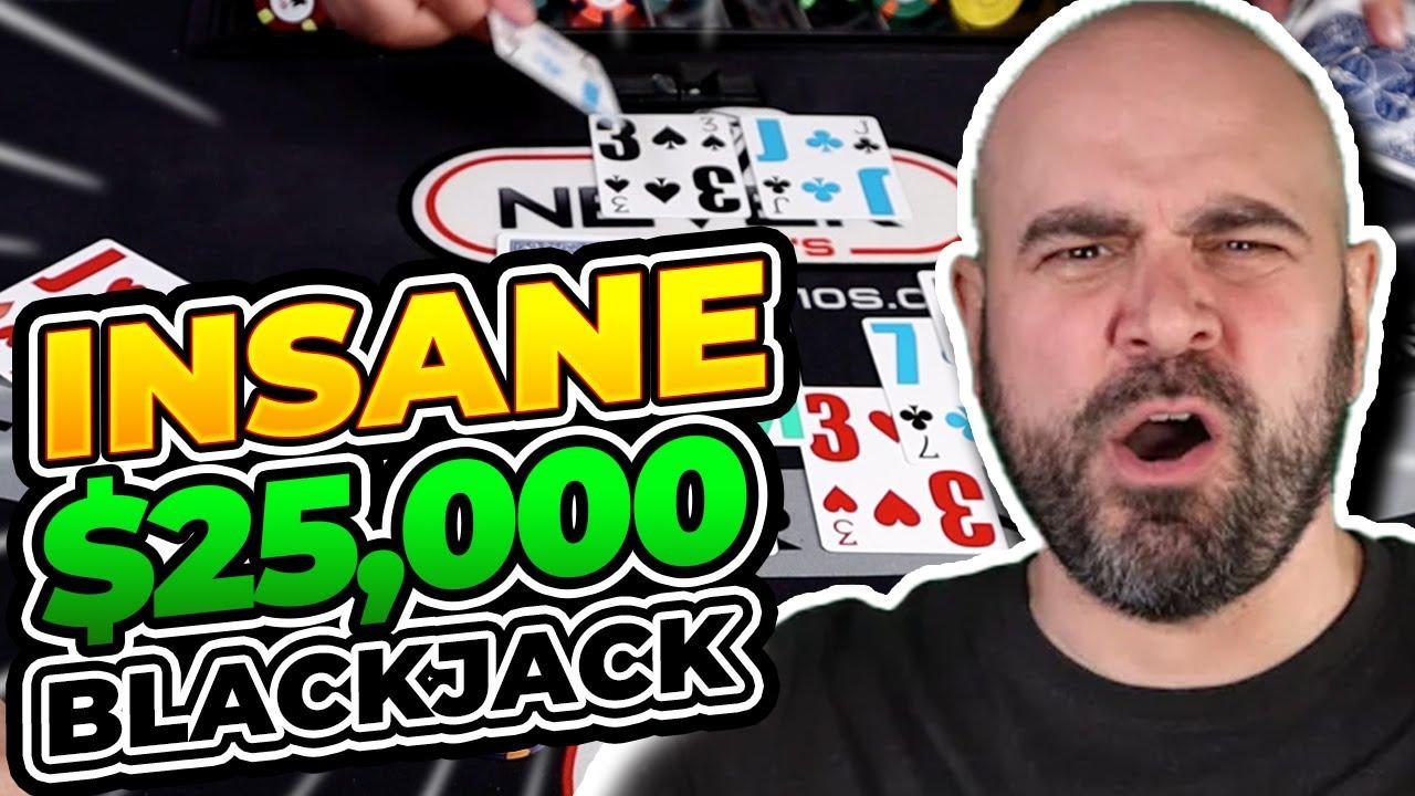 $25,000 INSANE Blackjack Run Part 1 - E.149