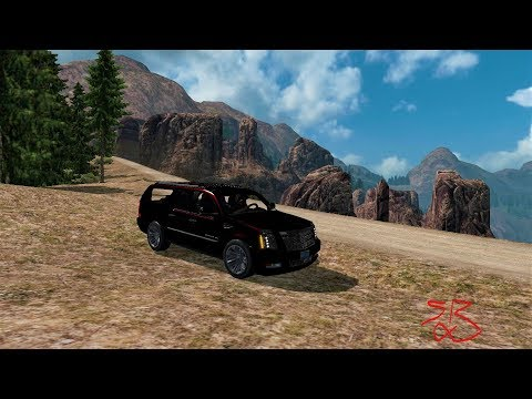 American Truck Simulator - Mountain Truckin - To Red Rock West