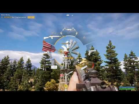 FAR CRY 5 - WATERWORKS, HOW TO GET IRRIGATION PIECE