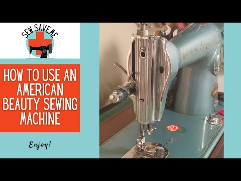 SOLD American Beauty 15 Clone Sewing Machine