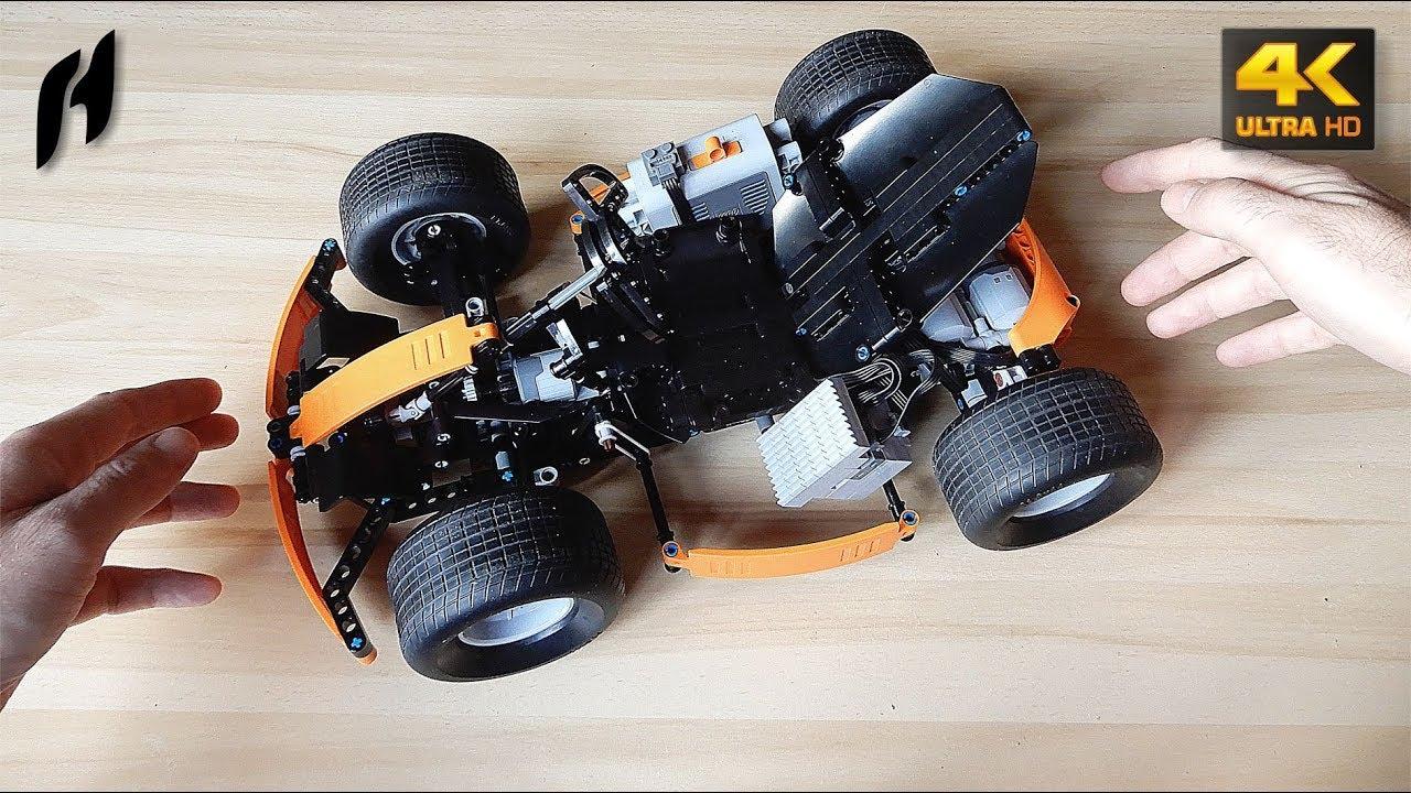 How To Build A Lego Technic Race Kart Moc 4k Youtube