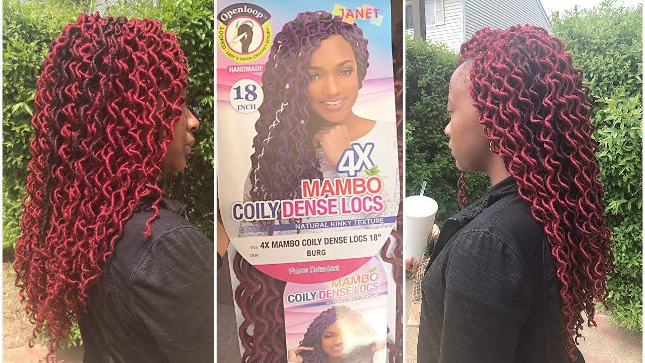 Kanekalon Crochet Faux Locs Hair Extensions Ombre Faux