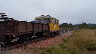 Auto de linha na estação de Rio da Várzea (Rio Negro/PR)