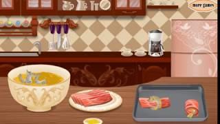 Мультик игра Готовим канапе из креветок в беконе (Bacon Wrapped Shrimp Canapes)