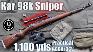 🏅Kar98k Sniper to 1,100yds: Practical Accuracy