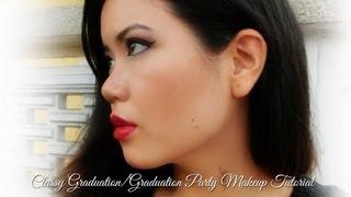 Classic Graduation Party Makeup Tutorial Thumbnail