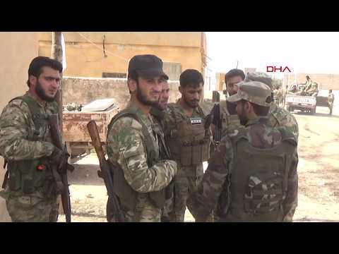 Tel Abyad'daki köyler teröristlerden temizleniyor