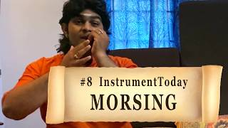 #8 INSTRUMENT-TODAY #instrumenttoday | Percussion Instruments Series | MORSING | SarveshKarthick