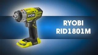 Аккумуляторный шуруповерт ONE+ RID1801M, RYOBI, 3001168(Обзор на Аккумуляторный шуруповерт ONE+ RID1801M, RYOBI, 3001168 ..., 2015-07-16T09:24:03.000Z)