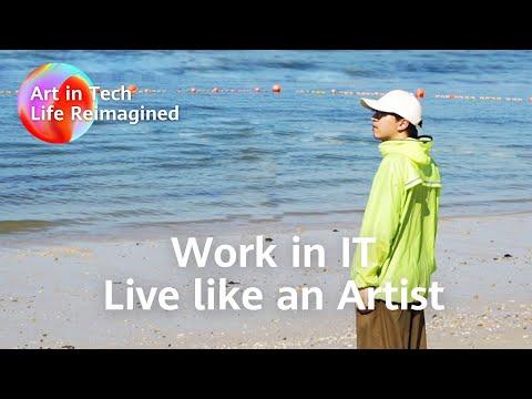 Algorithm Engineer on the Outside, Artist on the Inside