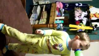 Blake dancing to Space Cowboy by Nsync