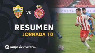 Resumen de UD Almería vs Girona FC (0-0)