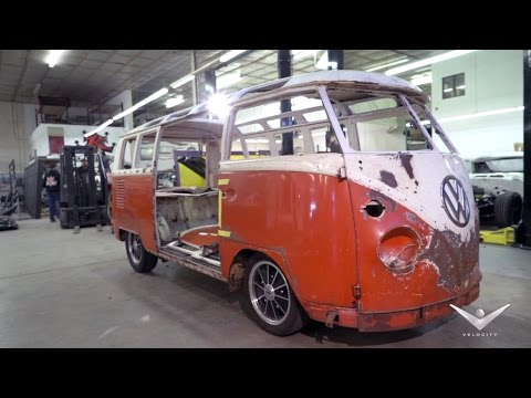 Dave Kindig Sets the Gameplan for the VW Bus | Bitchin' Rides