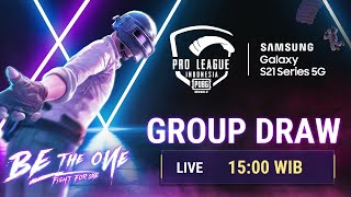 🎲 PMPL ID S3 LIVE GROUP DRAWING 🎲