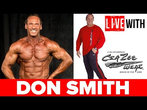 DON SMITH & CRAZEE WEAR | LIVE WITH