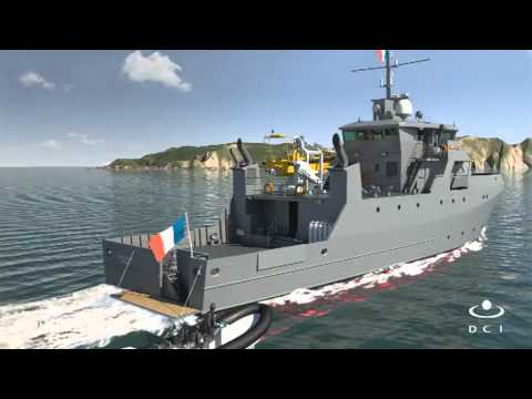 PIRIOU 44m Maritime Training Ship (Batiment de Formation Maritime - BFM)