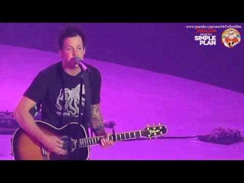 SIMPLE PLAN - UNTITLED live at ANTv Viva La Vida, Jakarta Indonesia 2013