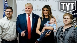 Trump's AWFUL Photo Op With Baby