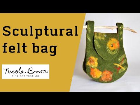 Complex Felt Bag