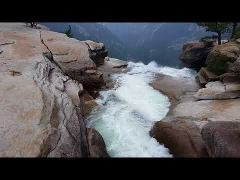 Yosemite #10 Nevada Falls Top- September 6, 2017 - Travels With Phil