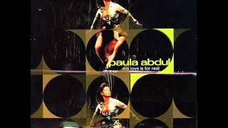 Paula Abdul - My Love Is For Real (Strike