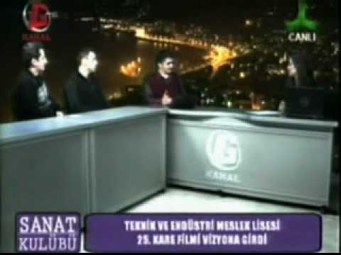 25.KARE FİLMİ YAPIM EKİBİ GİRESUN KANAL G TV'DE...
