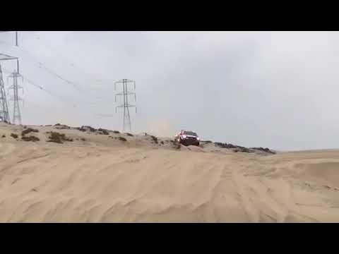 Nasser Al-Attiyah en la etapa número 3 del Rally Dakar 2018.