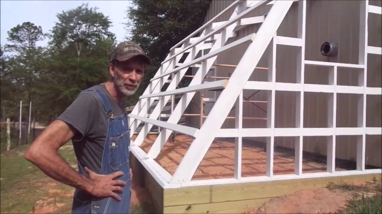 How to Build a Green House using Tuftex Panels - Part 3