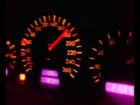 Mercedes Benz CLK 230 Kompressor 0 - 230 km/h