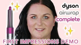 Dyson Airwrap Styler Review and Demo - Marisa Robinson Beauty