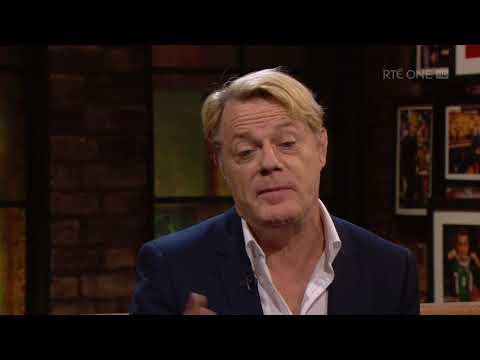 Eddie Izzard on living in Northern Ireland | The Late Late Show | RTÉ One