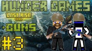 видео: Снайперская винтовка в Майнкрафте - Minecraft Hunger Games #3 [+guns] [LastRise]