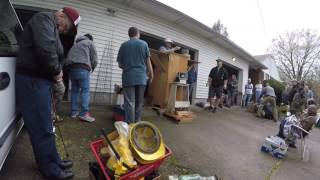 Estate Auction Treasure Hunting - First one of the Year!