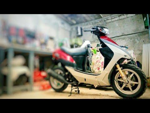 Полноценный ремонт скутера Suzuki ZZ Inch Up Sport
