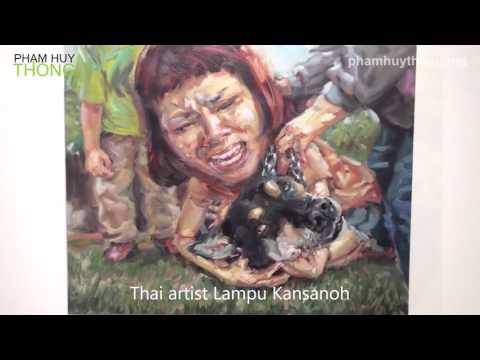 Artists Exhibition – Vietnam, Malaysia and Thailand - video by Pham Huy Thong