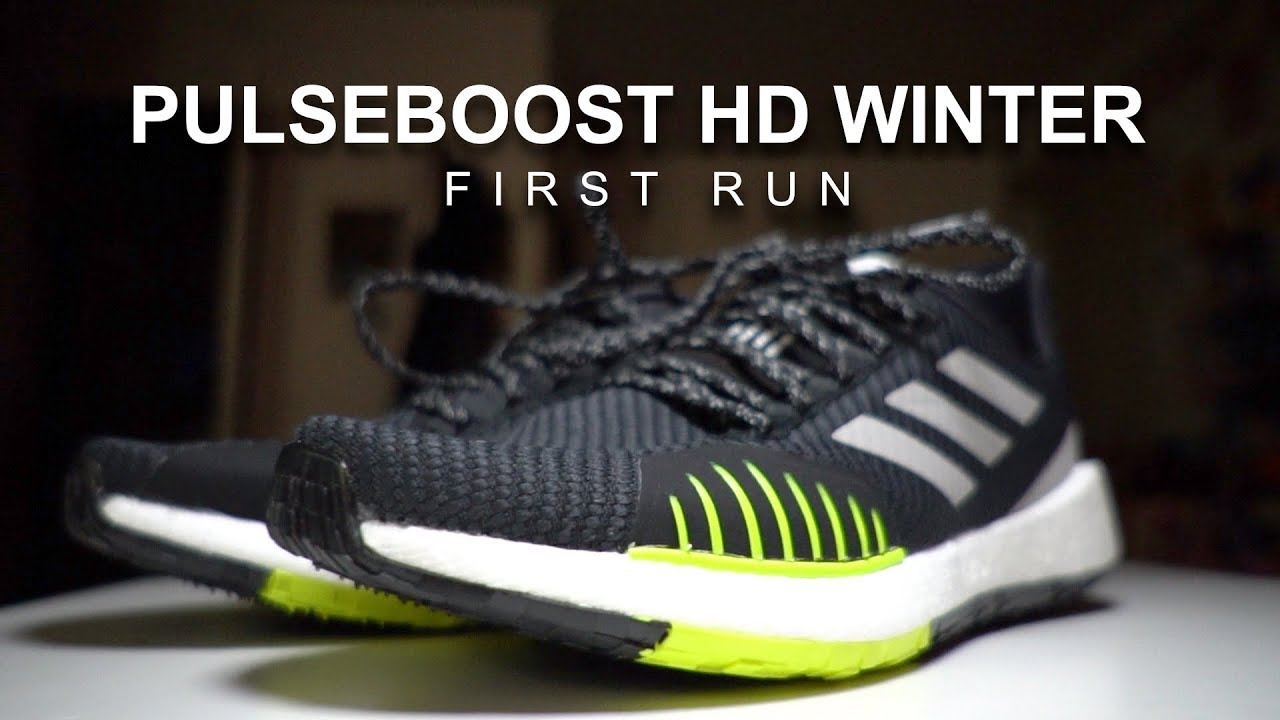 Adidas SolarBoost 19 First Run YouTube