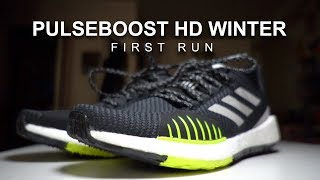 Adidas Pulseboost HD Winterized - First Run