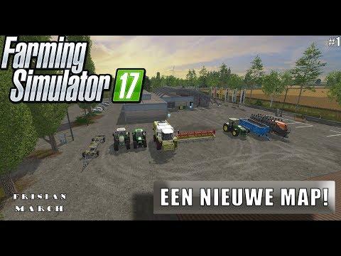 """""""EEN NIEUWE MAP!"""" FarmingSimulator 17 Frisian March #1"""